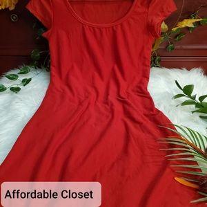 •Little Red Dress•